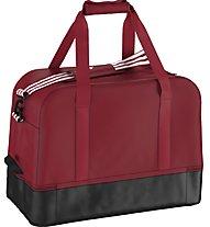 Adidas Tiro15 Team Bag Medium Borsa Calcio, Red/Black