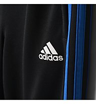 Adidas Tiro 3-Stripes - Trainingshose - Jungen, Black/Blue