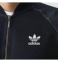 Adidas Originals Track Top FTD SST Sweatshirt Jacke Männer, Rinse Denim Blue