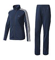 Adidas Basic 3 Streifen - Trainingsanzug - Damen, Navy/White