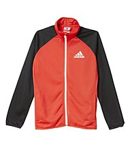 Adidas Tracksuit Entry Open Hem Trainingsanzug Kind, Vivid Red/Black