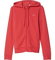 Adidas Tracksuite SS Lin Co Ts - Trainingsanzug Damen, Red