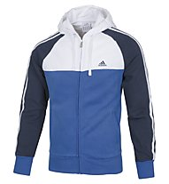 Adidas Tracksuit LPM CB 3S HD Trainingsanzug, Blue/White/Navy