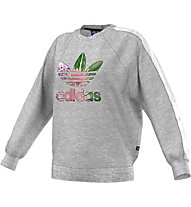 Adidas Originals Train Flo Sweat Felpa Donna, Grey