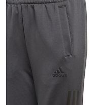 adidas Training Knit Pant Closed Hem - pantaloni fitness - ragazzo, Grey