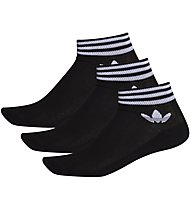 adidas Originals Trefoil Ank 3 Pack - Kurze Socken (3 Paare), Black