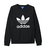 Adidas Originals Trefoil Crew Freizeitpullover, Black
