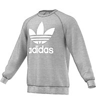 Adidas Originals Trefoil Crew - felpa, Grey