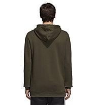 adidas Originals Trefoil Hoody - felpa con cappuccio - uomo, Brown