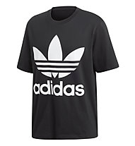 adidas Originals Trefoil Oversized T-shirt - T-shirt fitness - uomo, Black