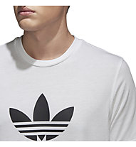 adidas Originals Trefoil - T-shirt fitness - uomo, White