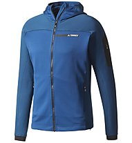 Adidas TERREX Stockhorn - Fleecejacke - Herren, Blue