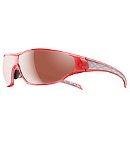 adidas Tycane Large - Sportbrille, Coral Shiny-LST Active Silver