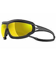 adidas Tycane Pro Outdoor Large - Sportbrille, Black/Yellow