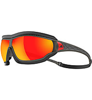 adidas Tycane Pro Outdoor Large - Sportbrille, Grey/Red