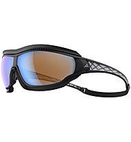 adidas Tycane Pro Outdoor Large - Sportbrille, Matt Black/Grey