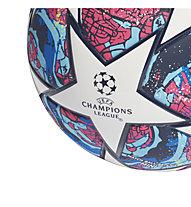 adidas UCL Finale Istanbul Mini Ball - Fußball, White/Blue/Fucsia