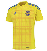 Adidas Home Replica Ukraine Fußballtrikot, Yellow/Blue