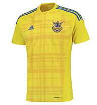 Adidas Maglia calcio Home Replica Ucraina, Yellow/Blue