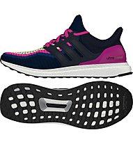 Adidas Ultra Boost scarpa running donna, Navy/Pink