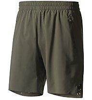 Adidas Ultra Energy Short Men - Kurze Laufhose Herren, Green