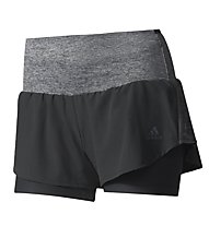 Adidas Ultra Energy Short W - Kurze Laufhose Damen, Black