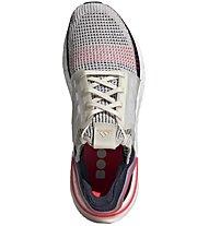 adidas UltraBOOST 19 - Laufschuhe Neutral - Herren, White/Blue