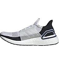 adidas UltraBOOST 19 - Laufschuhe Neutral - Herren, White/Black