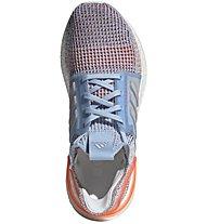 adidas UltraBOOST 19 - Laufschuhe Neutral - Damen, Light Blue/Orange