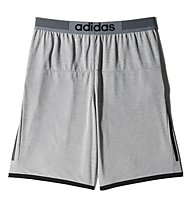 Adidas Uncontrol Climachill pantaloni corti, Medium Grey Heather