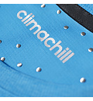 Adidas Uncontrol Climachill T-shirt Fitness, Chill Blue Mel