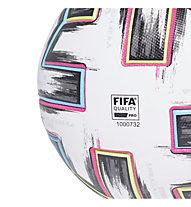 adidas Uniforia Pro - pallone da calcio, White/Black/Green/Cyan