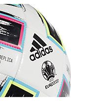 adidas Uniforia TRN 2020 Euro - pallone da calcio, White/Black/Green