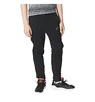 Adidas Urban Football Performer Tiro - pantaloni calcio bambino, Black