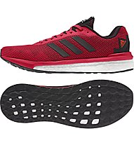Adidas Vengeful - scarpa running, Red