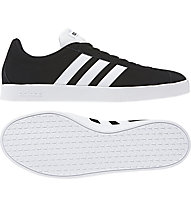 adidas VL Court 2.0 - sneakers - uomo, Black/White
