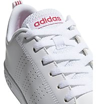 adidas VS Advantage Clean K - sneaker - bambina, White