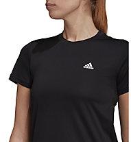 adidas W 3 Stripes - T-Shirt - Damen , Black