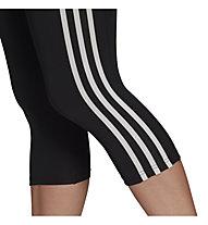 adidas W 3S 3/4 Tight - Fitnesshose - Damen , Black