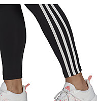 adidas W 3S 7/8 Tight - Fitnesshose - Damen , Black