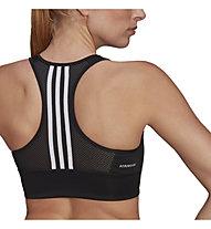 adidas W 3S BT - reggiseno sportivo a supporto medio - donna, Black