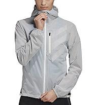 adidas Terrex Agravic Rain - giacca trail running - donna, Grey