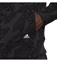 adidas Animal Print Track Jkt - Trainingsjacke - Damen , Black