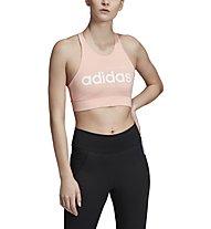 adidas Women Brilliant Basics Bra Top - Sport BH leichte Stützung - Damen, Rose