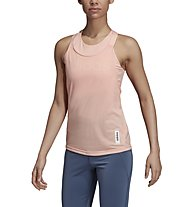 adidas Brilliant Basics - top fitness - donna, Rose