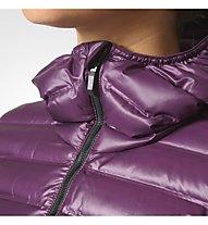 Adidas Limited Down - Daunenjacke mit Kapuze - Damen, Violet