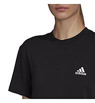 adidas W's Must Haves 3-Stripes Tee Boyfriend Fit - T-Shirt - Damen, Black
