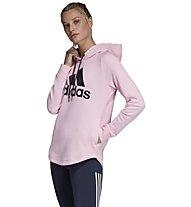 adidas Must Haves Badge of Sport Hoodie - Kapuzenpullover - Damen, Pink