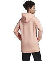 adidas Must Haves Badge of Sport Logo Hoodie - felpa con cappuccio - donna, Orange