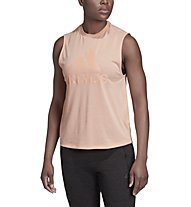 adidas Must Haves Badge of Sport - top fitness - donna, Rose
